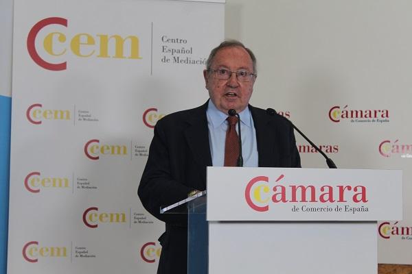 Centro Español de Mediación Cámara de Comercio de España Jose Luis Bonet M6 - Centro Español de Mediación de la Cámara de Comercio de España